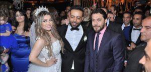 احمد حسن فى حفل زفاف تامر عاشور و عروسه سمر