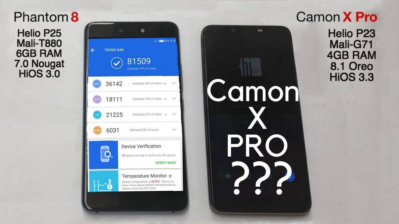 أسعار ومواصفات موبيل Tecno camon cx pro